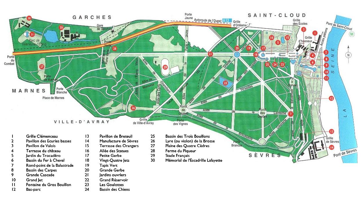Parc De Saint Cloud Ville D Avray